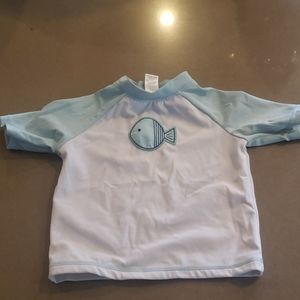 Janie and Jacj rash guard Size 12-18 months